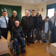 Εθιμοτυπική επίσκεψη του Συλλόγου Ατόμων με Αναπηρία της Π.Ε. Κοζάνης στην Γενική Περιφερειακή Αστυνομική Διεύθυνση Δυτικής Μακεδονίας