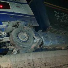 kozan.gr: Εγνατία Οδός: Τροχαίο ατύχημα, πριν από λίγο, (ώρα 20:00) στο 4ο χλμ Γρεβενών – Κοζάνης –  Νταλίκα «καβάλησε» το διαχωριστικό διάζωμα – Στο τροχαίο ενεπλάκησαν άλλα δύο διερχόμενα αυτοκίνητα, από το αντίθετο ρεύμα (Φωτογραφίες & Βίντεο)