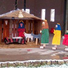 Η τοπική κοινότητα Λευκόβρυσης του Δήμου Κοζάνης έβαλε τα γιορτινά της