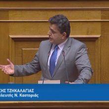 """Ο Βουλευτής Καστοριάς, Ζ. Τζηκαλάγιας: """"Θέλουμε την ειρήνη ,αλλά αν χρειαστεί θα πολεμήσουμε και θα νικήσουμε"""" (Bίντεο)"""