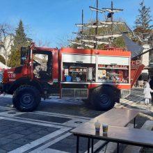 kozan.gr: Σε πυροσβεστικό πάρκο μετατράπηκε, το πρωί της Κυριακής 15/12, η κεντρική πλατεία Πτολεμαΐδας  (Φωτογραφίες & Βίντεο)