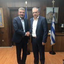Συνάντηση Δημάρχου Γρεβενών κ. Δασταμάνη με τον Υπουργό Εσωτερικών κ. Θεοδωρικάκο