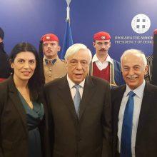 Ο πρόεδρος της Θρακικής Εστίας Εορδαίας στον Πρόεδρο της Δημοκρατίας