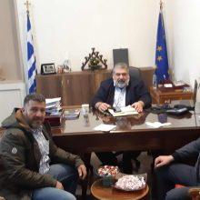 Συνάντηση Δημάρχου Εορδαίας με τον Πρόεδρο της ΠΟΕ-ΟΤΑ