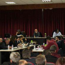 Oμόφωνη υπερψήφιση του Τεχνικού Προγράμματος 2020 του Δήμου Σερβίων στην αντιπρόταση προγράμματος που κατατέθηκε από κοινού από παρατάξεις της αντιπολίτευσης (Κωνσταντόπουλος, Σπυρίδου)