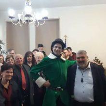 Kάλαντα και ευχές στον Δήμαρχο Εορδαίας (Βίντεο & Φωτογραφίες)