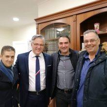 kozan.gr: Ευχές για την ονομαστική του εορτή, δέχτηκε στο Δημαρχείο Βοΐου, στη Σιάτιστα, ο Δήμαρχος Χρήστος Ζευκλής (Φωτογραφίες)