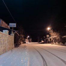 Σημερινές, βραδινές, φωτογραφίες & βίντεο αναγνώστη του kozan.gr από την χιονισμένη Καστανιά – Ζωοδοχο Πηγή