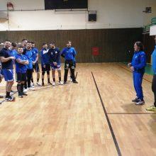 Συνεχίζει τις προπονήσεις, στο ΔΑΚ Κοζάνης, η Εθνική Ομάδα Handball, στο πλαίσιο της προετοιμασίας για τα προκριματικά του παγκοσμίου πρωταθλήματος (Φωτογραφίες)