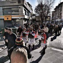 Tο εθιμικό δρώμενο των Κοτσαμάνων παρουσίασε, το πρωί της Κυριακής 29/12, στο Ελευθέριο – Κορδελιό Θεσσαλονίκης, ο Μορφωτικός Λαογραφικός Σύλλογος Τετραλόφου (Φωτογραφίες)