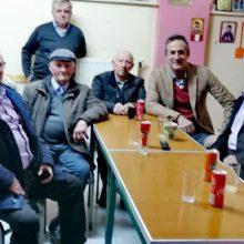 Ευχές Βουλευτή Ν. Κοζάνης Στάθη Κωνσταντινίδη για τη νέα χρονιά, με φίλους από την περιοχή των Καμβουνίων
