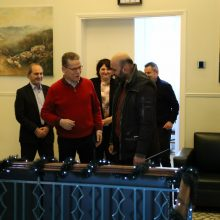 "kozan.gr: Τα πρωτοχρονιάτικα κάλαντα έψαλε, το πρωί της Τρίτης 31/12, στο Δήμαρχο Κοζάνης, η Φιλαρμονική ""Πανδώρα"" (Bίντεο & Φωτογραφίες)"