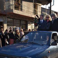 """Aναβίωσαν και φέτος, την Πρωτοχρονιά, τα """"Ρουγκατσάρια- Μπουμπουσάρια"""" τηςΓαλατινής (Φωτογραφίες)"""