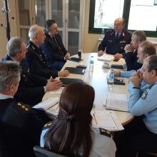 Σύσκεψη, με τη συμμετοχή του Περιφερειάρχη Δ. Μακεδονίας Γ. Κασαπίδη, πραγματοποιήθηκε σήμερα το πρωί στη Γενική Περιφερειακή Αστυνομική Διεύθυνση Δυτικής Μακεδονίας