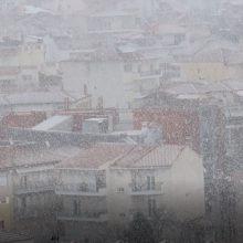 kozan.gr: Κοζάνη: Ώρα 10.00 π.μ.: Όμορφες εικόνες από τη χιονόπτωση όπως φαίνεται από την περιοχή του Ξενία (Βίντεο)