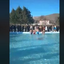 kozan.gr: O σημερινός καθαγιασμός των υδάτων στο Μαυροδένδρι Κοζάνης (Βίντεο)