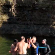 kozan.gr: O Καθαγιασμός των Υδάτων   στο πέτρινο γεφύρι Ανθοχωρίου του Δήμου Βοΐου (Βίντεο)