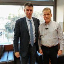 Συνάντηση του Δημάρχου Κοζάνης, Λάζαρου Μαλούτα με τον Γ.Γ. ΕΣΠΑ και Δημοσίων Επενδύσεων, Δημήτρη Σκάλκο
