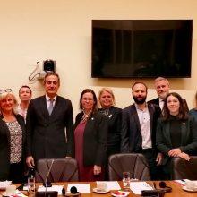 """Στάθης Κωνσταντινίδης: """"Συνάντηση της ελληνικής Κοινοβουλευτικής Επιτροπής με την αντίστοιχη σουηδική με θέμα το μεταναστευτικό/προσφυγικό"""""""