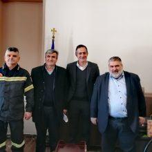 """Στάθης Κωνσταντινίδης: """"Πλήρης επιβεβαίωση. """"Αναβαθμίζονται η Πυροσβεστική Ακαδημία και το Παράρτημα της Σχολής Πυροσβεστών της Πτολεμαΐδας"""" (Δελτίου Τύπου)"""