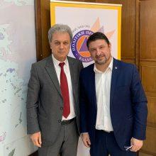 """Γιώργος Αμανατίδης: """"Η παραμονή της Σχολής Πυροσβεστών στην Πτολεμαΐδα κι η αναβάθμισή της αποτελούν εθνική στρατηγική"""""""