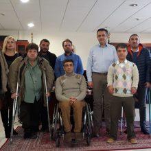 """Γ. Κασαπίδης: """"Στόχος να κάνουμε περισσότερα για τα άτομα με αναπηρία στον τόπο μας"""""""
