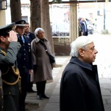 kozan.gr: Ώρα 11:00 π.μ.: H άφιξη του Προέδρου της Δημοκρατίας Π. Παυλόπουλου στον Ι.Ν. Κοίμησης της Θεοτόκου Βελβεντού (Βίντεο & Φωτογραφίες)
