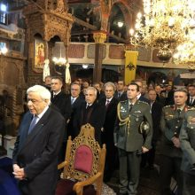 Kozan.gr: Η είσοδος του Προέδρου της Δημοκρατίας Π. Παυλόπουλου στον Ι.Ν. Κοίμησης της Θεοτόκου Βελβεντού – Φωτογραφίες από εσωτερικό (