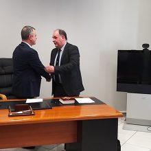 kozan.gr: Ορκίστηκε, στη Θεσσαλονίκη, σήμερα το πρωί, στις εγκαταστάσεις της 3ης ΥΠΕ, ο νέος διοικητής του Μποδοσάκειου Σ. Παπασωτηρίου