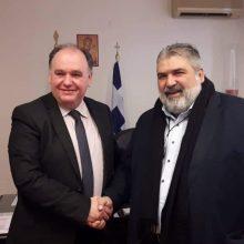 Επίσκεψη του Δημάρχου Εορδαίας στο νέο Διοικητή του Μποδοσάκειου Νοσοκομείου Πτολεμαΐδας