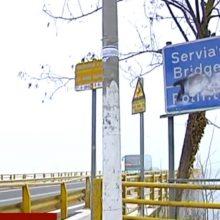 Εικόνα της υψηλής γέφυρας Σερβίων μέσα από τη λίμνη – Σε ισχύ τα μέτρα κυκλοφορίας (Bίντεο)
