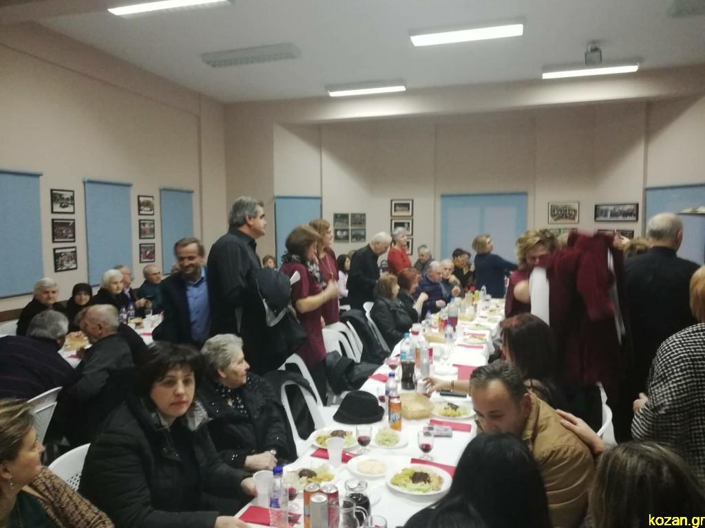 kozan.gr: Έκοψαν την βασιλόπιτα, το βράδυ της Πέμπτης 16/1, στο ΚΑΠΗ Λευκοπηγής (Φωτογραφίες & Βίντεο)