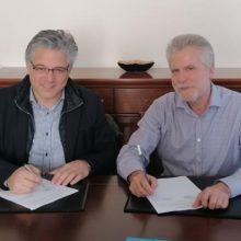 Υπογραφή σύμβασης για κατασκευή 7 παιδικών χαρών στο Δήμο Βοΐου
