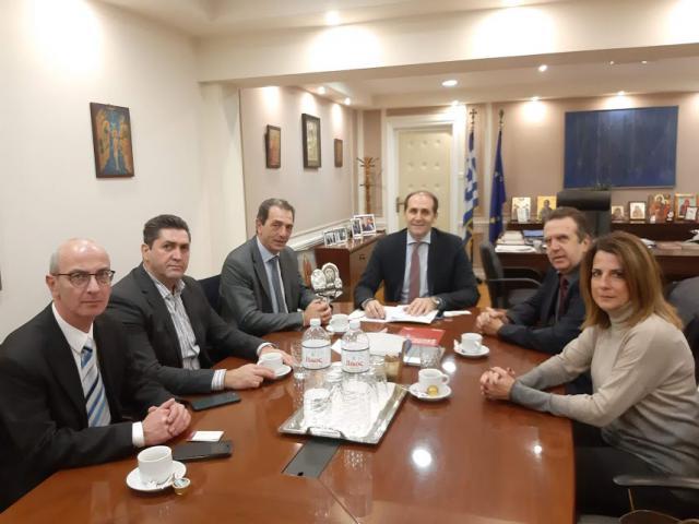 Συναντήσεις του Προέδρου της Ελληνικής Ομοσπονδίας Γούνας Δημήτρη Κοσμίδη