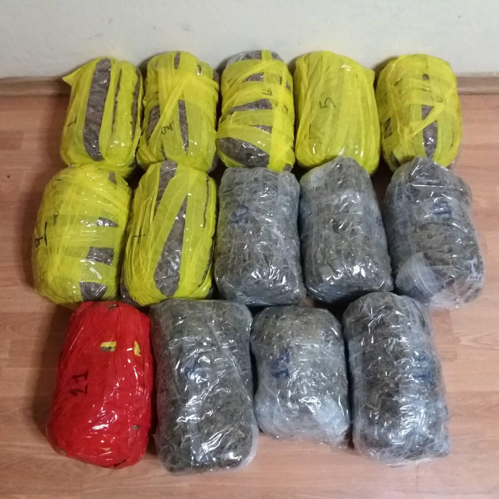 Συνελήφθη 26χρονος αλλοδαπός για διακίνηση ποσότητας ακατέργαστης κάνναβης βάρους -14- κιλών και -180- γραμμαρίων, σε περιοχή της Καστοριάς