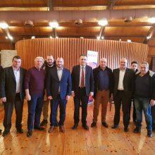 """Η κοπή  της πρωτοχρονιάτικης πίτας του συλλόγου Θεριζοαλωνιστών Κοζάνης η """"ΜΑΚΕΔΟΝΙΑ"""" πραγματοποιήθηκε την Κυριακή 19/1   (Φωτογραφίες)"""