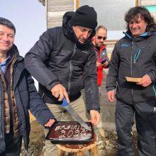 kozan.gr: Γρεβενά: Μαζί με τους εργαζομένους του Χιονοδρομικού Κέντρου Βασιλίτσας & στελέχη της αυτοδιοίκησης, έκοψε την πίτα σήμερα Δευτέρα 20/1 ο Υφυπουργός Πολιτισμού και Αθλητισμού, Λευτέρης Αυγενάκης (Φωτογραφίες)