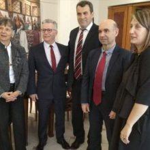 Επίσκεψη του  Γενικού  Προξένου της Γαλλίας Philippe Ray στον Αντιπεριφερειάρχη Καστοριάς