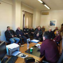 Επίσκεψη στη Δημοτική Ενότητα Ελίμειας στον Κρόκο Κοζάνης πραγματοποίησε την Τρίτη 21 Ιανουαρίου o Αντιδήμαρχος Δημοτικών Ενοτήτων Δουγαλής Γεώργιος