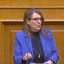 """Ολυμπία Τελιγιορίδου: """"Περιφέρεια και κυβέρνηση να ενισχύσουν άμεσα και χωρίς αποκλεισμούς τις μικρομεσαίες επιχειρήσεις"""""""