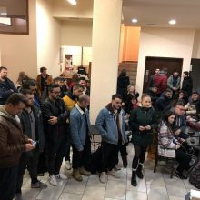 Πραγματοποιήθηκε, σήμερα Τετάρτη 22/01, η ετήσια κοπή πίτας του  ΙΕΚ VOLTEROS  (Φωτογραφίες)