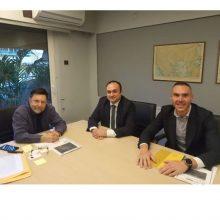 Mε τον Υφυπουργό Χωροταξίας και Αστικού Περιβάλλοντος κ. Δημήτριο Οικονόμου συναντήθηκε ο Αντιπεριφερειάρχης Περιφερειακής Ανάπτυξης κ. Νικόλαος Λυσσαρίδης