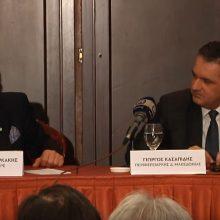 """kozan.gr: Γ. Χατζημαρκάκης για Γ. Κασαπίδη: """" Eγω δεν έχω δει τέτοιο πολιτικό. Από την 1η μέρα της θητείας ο Περιφερειάρχης καθόταν μαζί μου στο Μαξίμου"""" (Βίντεο)"""