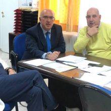kozan.gr: To Διοικητή του Μαματσείου νοσοκομείου Κοζάνης Σ. Γκανάτσιο επισκέφτηκε, σήμερα Σάββατο 25/1, ο βουλευτής Κοζάνης της ΝΔ Μ. Παπαδόπουλος (Φωτογραφία)