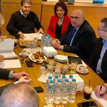 Φωτογραφίες από τη σημερινή κλειστή σύσκεψη, στο Αστυνομικό Μέγαρο Κοζάνης, παρουσία του Υπουργού Προστασίας του Πολίτη Μιχάλη Χρυσοχοΐδη