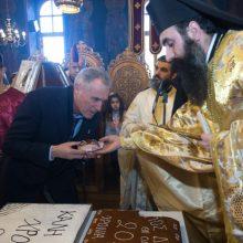 Μέσα από τη Θεία Λατρεία και με τη συμμετοχή πολλού λαού  γιορτάστηκε ο Άγιος Διονύσιος ο εν Ολύμπω στο Βελβεντό  της Ιεράς Μητροπόλεως Σερβίων και Κοζάνης (του παπαδάσκαλου Κωνσταντίνου Ι. Κώστα)