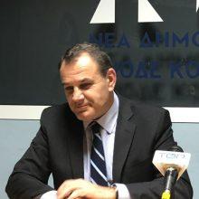 "kozan.gr: Ν. Παναγιωτόπουλος (Υπουργός Εθνικής Άμυνας), από την Κοζάνη, για τις ενέργειες παραχώρησης του στρατοπέδου Μακεδονομάχων, από την προηγούμενη κυβέρνηση: ""Αυτό που γνωρίζω είναι ένα γενικό κι αόριστο προσύμφωνο (συνεργασίας) – Η νέα Δημοτική Αρχή θα βάλει το ζήτημα στο τραπέζι (ήδη μου το έθεσε) κι εδώ είμαστε να δούμε … Οι προεκλογικές εξαγγελίες της προηγούμενης κυβέρνησης ήταν ψωμοτύρι"" (Φωτογραφίες & Βίντεο)"
