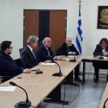kozan.gr: Έκτακτη σύσκεψη, με την παρουσία βουλευτών, συγκάλεσε ο Δήμαρχος Σερβίων Χ. Ελευθερίου, σήμερα Κυριακή 26/1, στην Περιφέρεια Δ. Μακεδονίας, σχετικά με τις επιπτώσεις στην απασχόληση και γενικότερα στην τοπική οικονομία της περιοχής των Σερβίων, από τη ακύρωση της Περιβαλλοντικής Άδειας και την διακοπή λειτουργίας επ' αόριστον του ΑΗΣ Λιγνιτική Μελίτης ΑΕ της ΔΕΗ, που τροφοδοτείται με λιγνίτη από το ορυχείο Προσηλίου  (Φωτογραφίες & Βίντεο)