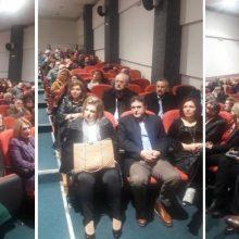 Με μεγάλη επιτυχία ολοκληρώθηκαν οι εκδηλώσεις που διοργάνωσε η Περιφερειακή Διεύθυνση Εκπαίδευσης Δυτικής Μακεδονίας με το γενικό τίτλο «Εκπαιδευτικές προσεγγίσεις της ιστορίας των Εβραϊκών Κοινοτήτων της Δυτικής Μακεδονίας»,