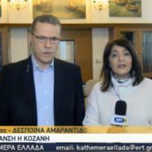 Λάζαρος Μαλούτας, Δήμαρχος Κοζάνης: «Το μείζον ζήτημα είναι να δημιουργηθούν νέες θέσεις εργασίας για να μην ερημώσει η περιοχή» (Βίντεο)